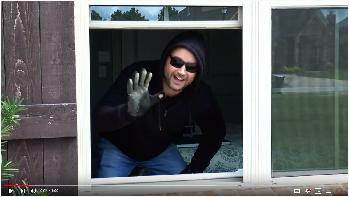 Friendly Neighborhood Thief breaks into your home