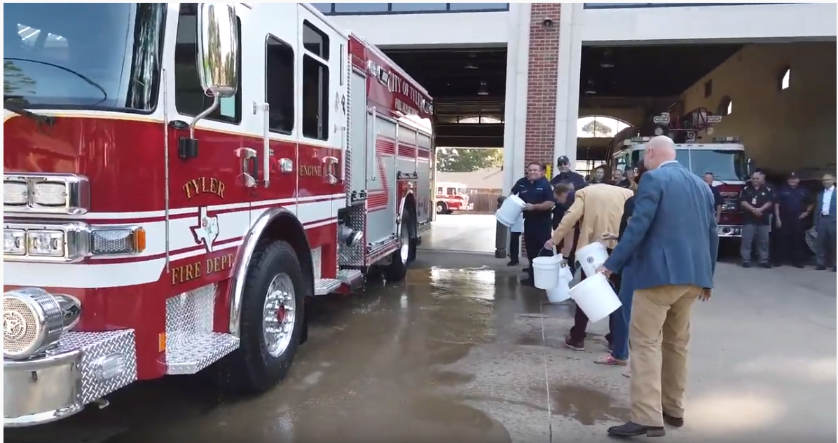 Station 10 welcomes new engine