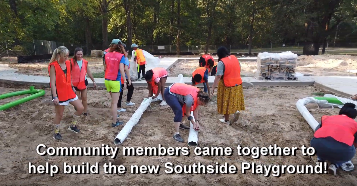 Southside Park Build Day
