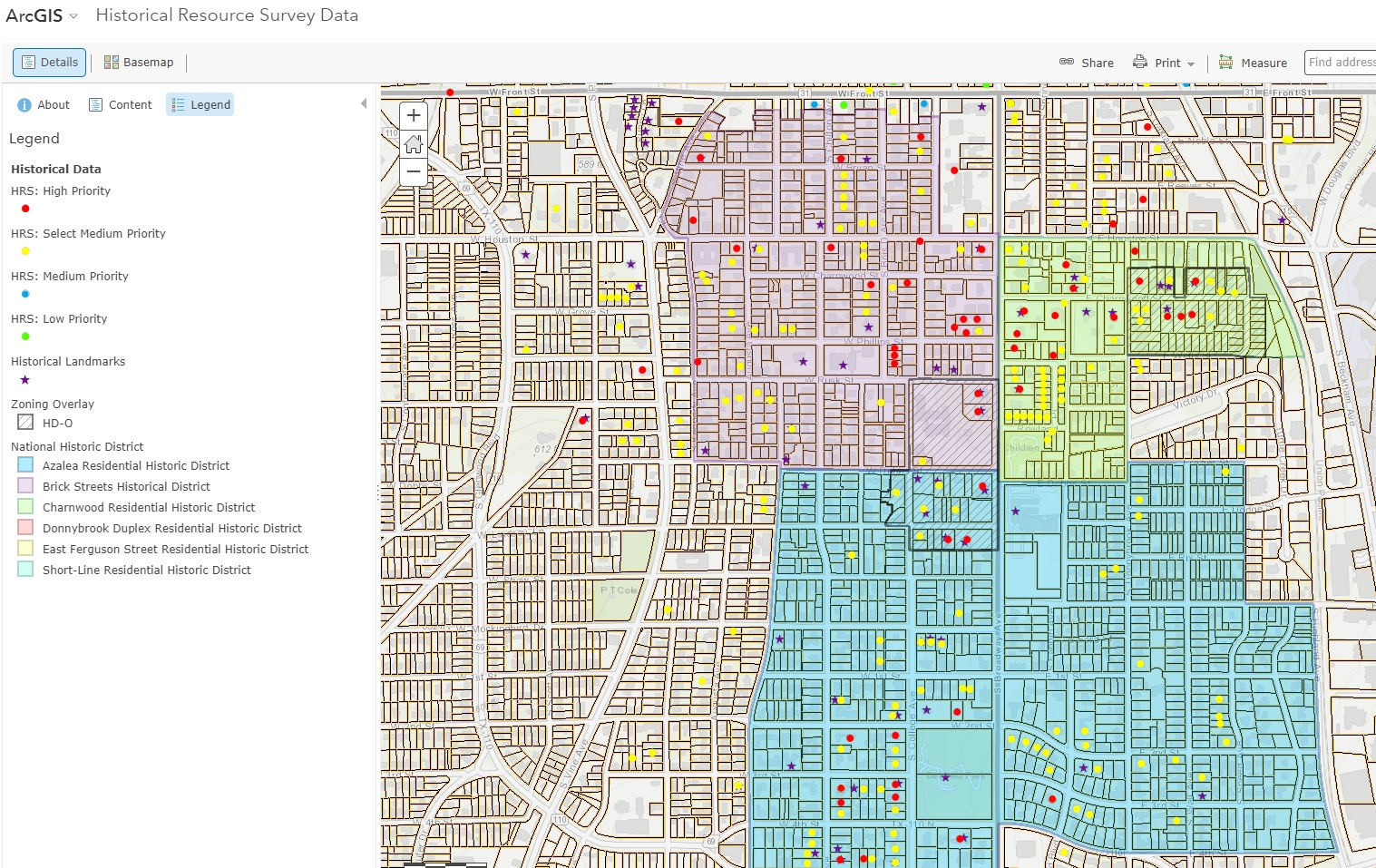 Historic Preservation Interactive Map