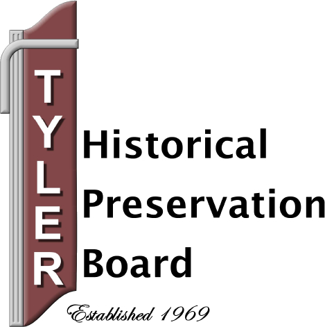 Tyler Historical Preservation Board logo