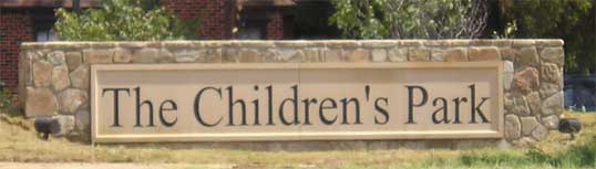 Childrens Park Signage