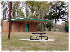 Picnic Table near Restrooms