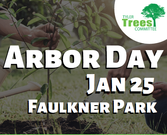 Arbor Day Tree Planting set for January 25 at Faulkner Park