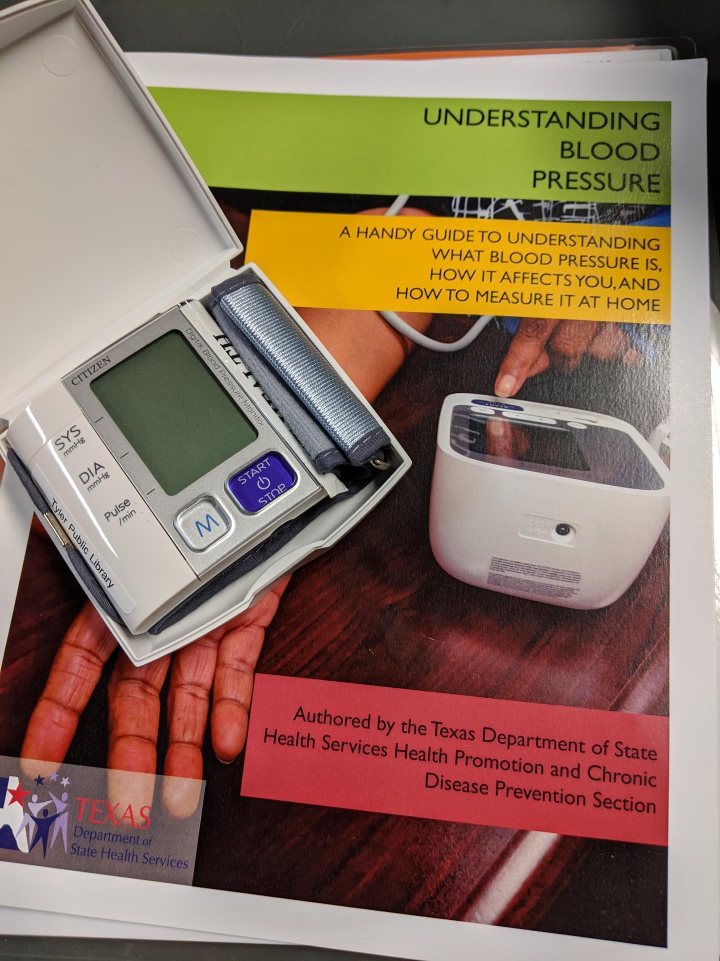 Blood Pressure Kit Example