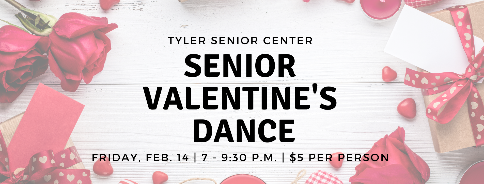 senior valentine's dance at the senior center on February 14, 2020