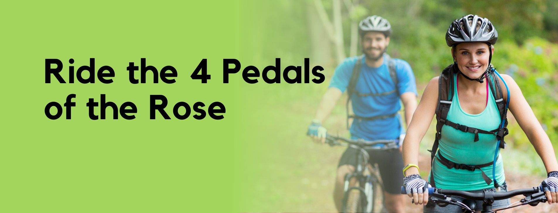 Ride the Four Pedals
