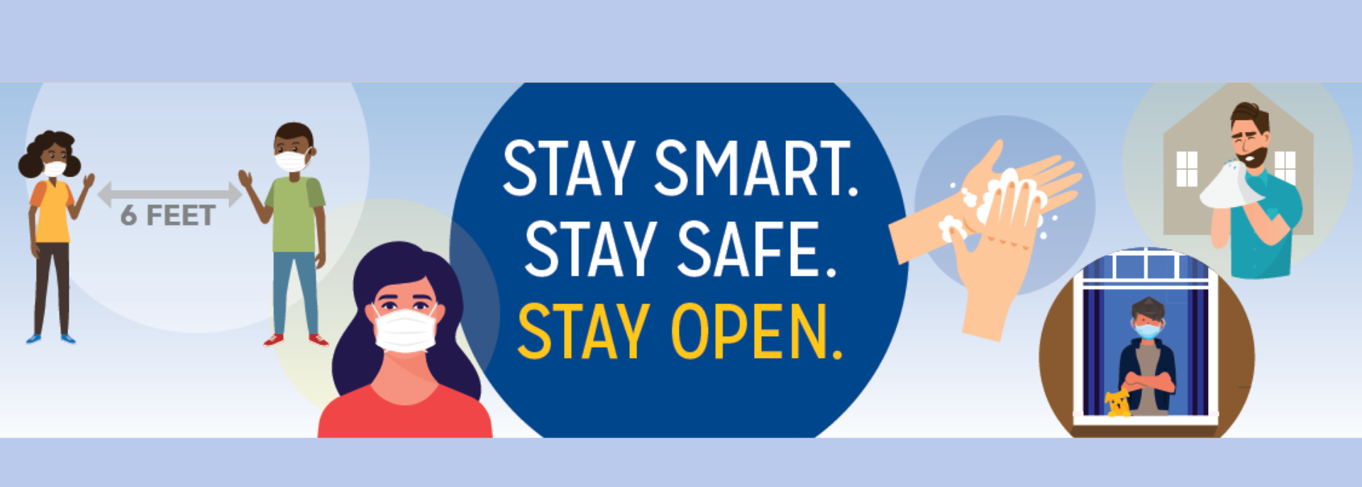 Stay Smart, Safe and Open