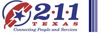 211 Texas logo