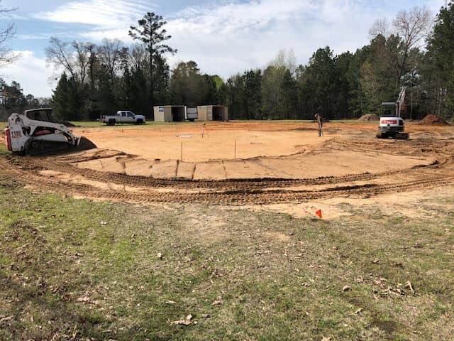 Dirt Work at Faulkner Skate Park